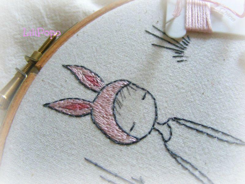 Bunny girl detail