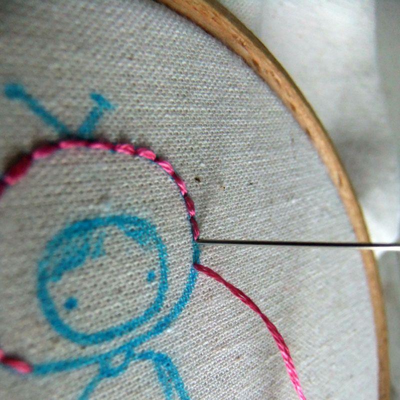 Stitch astronaut