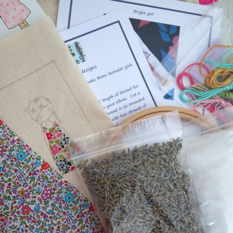 Daisy girl bag kit