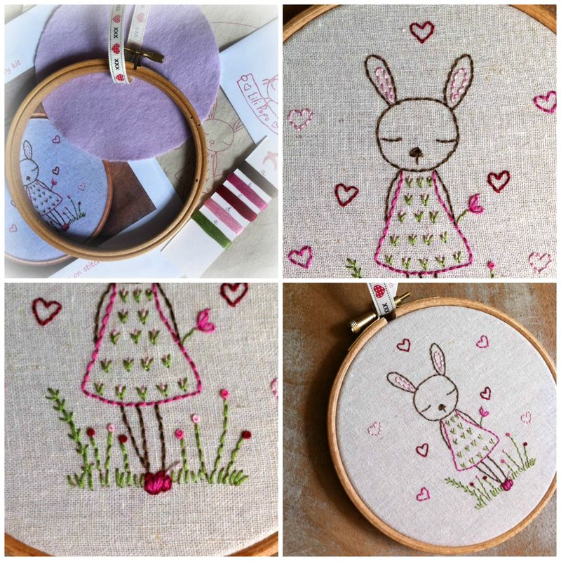 Bunny kit collage