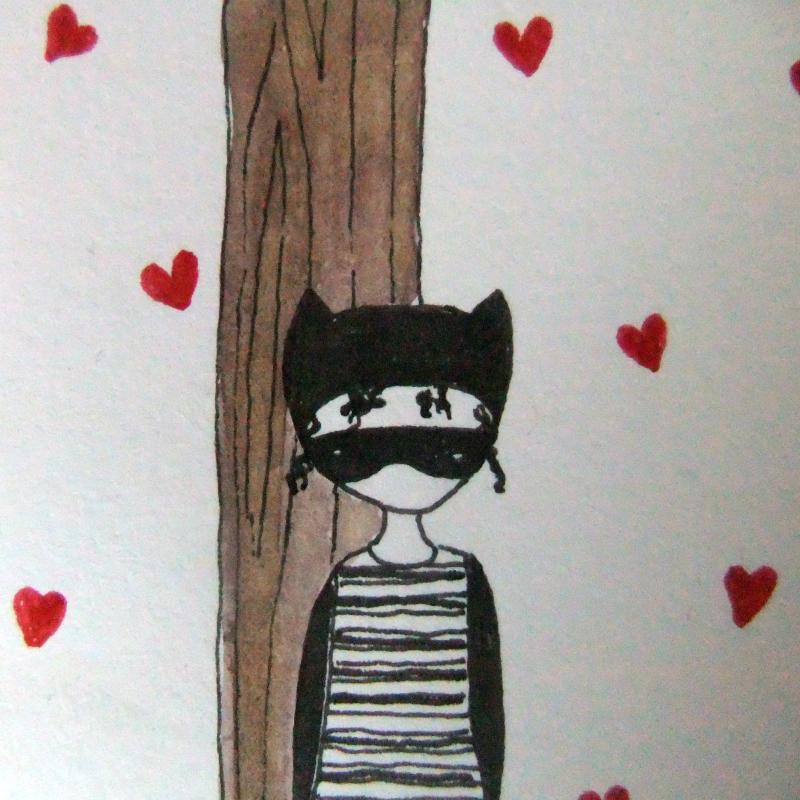 Heart burglar detail