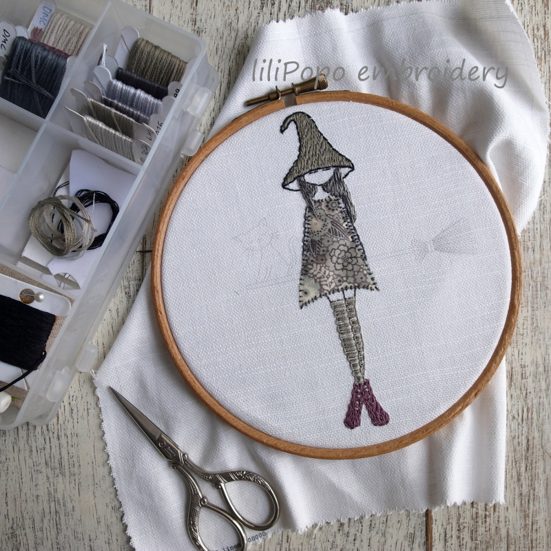 Lilipopo embroidery feeling witchy 2