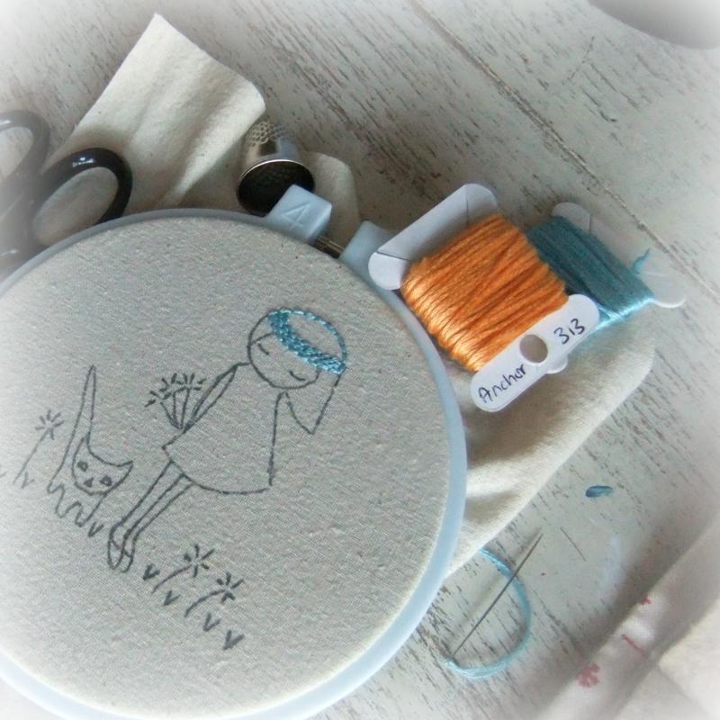 Still stitching
