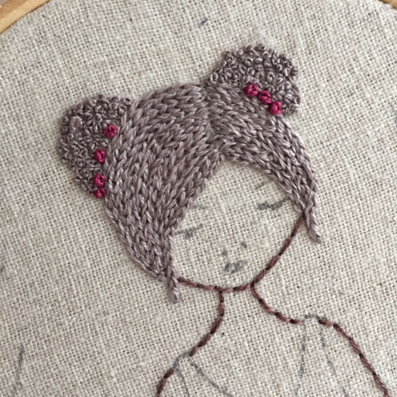 Lilipopo chain stitch hair