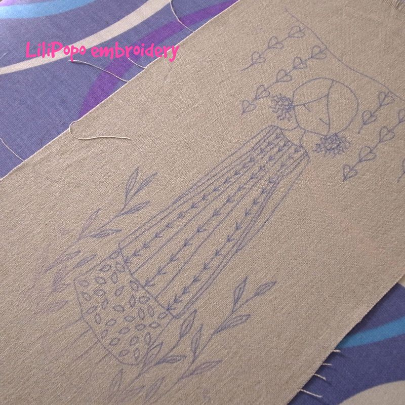Transfer pen fabric