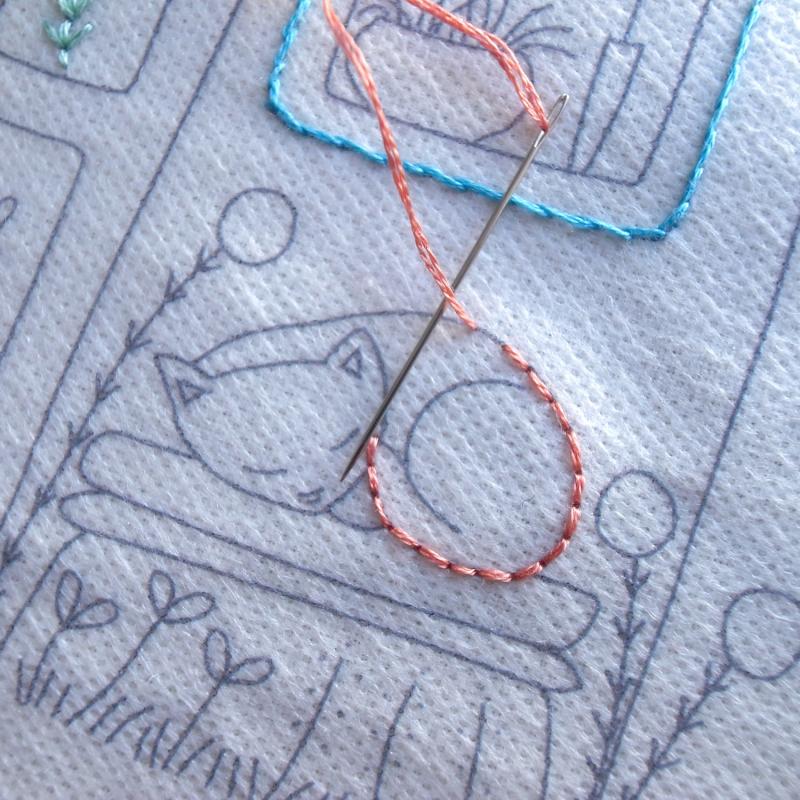 Cat stitching