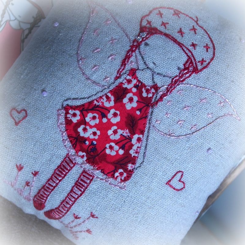 Etsy red fairy cover