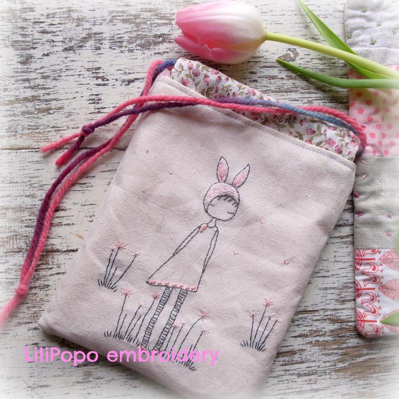 Spring stitching bag