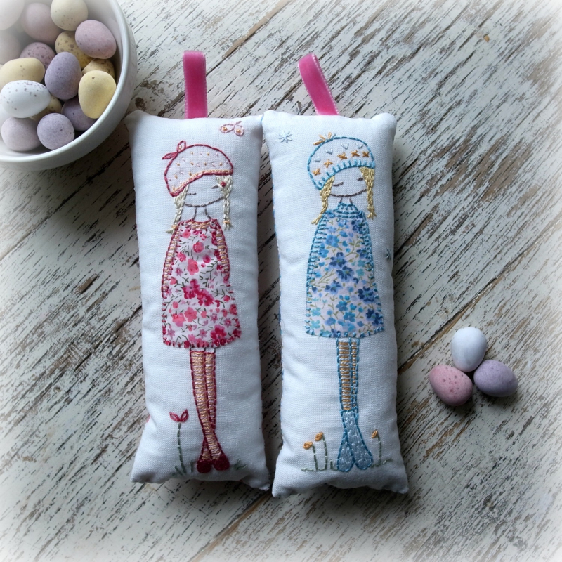 Pink and blue lavender girl kits