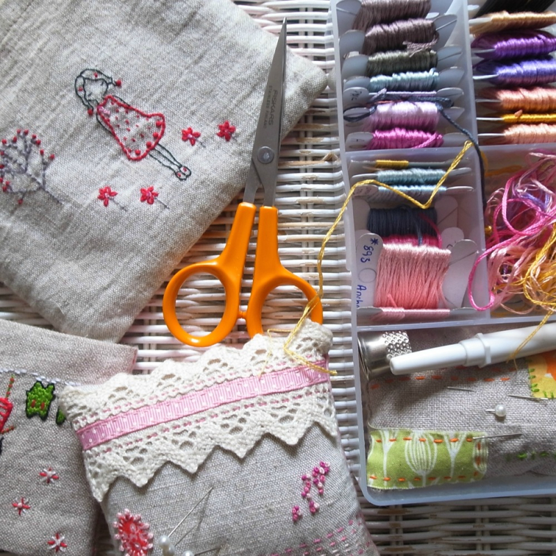 Embroidery tools