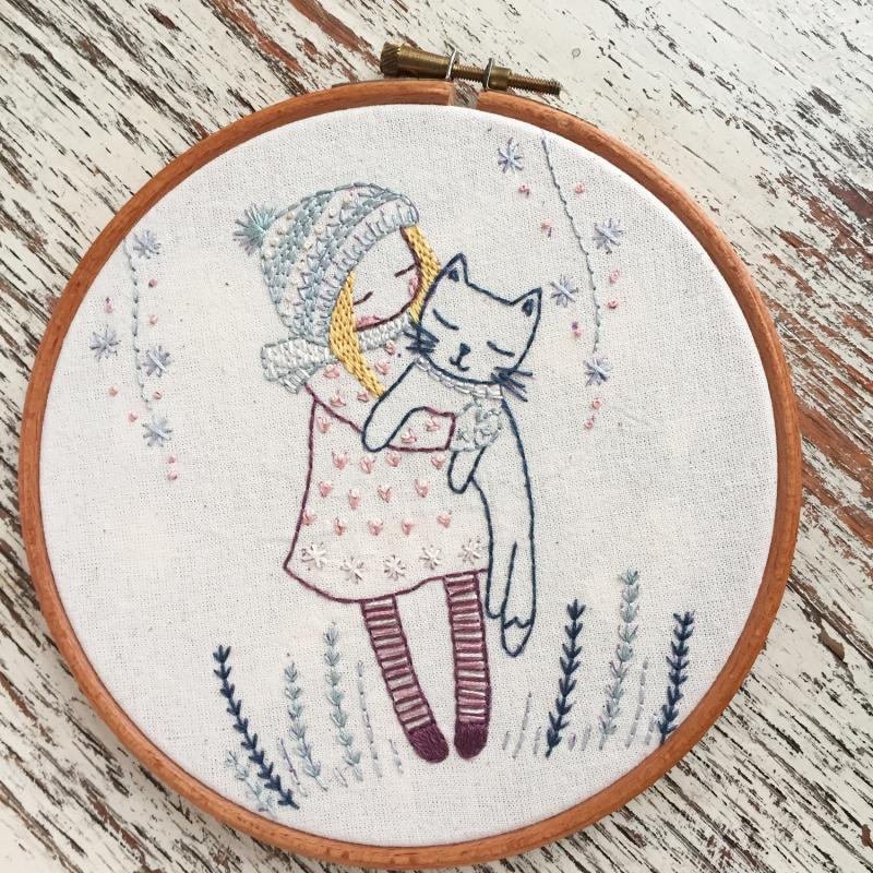 Full line stitch