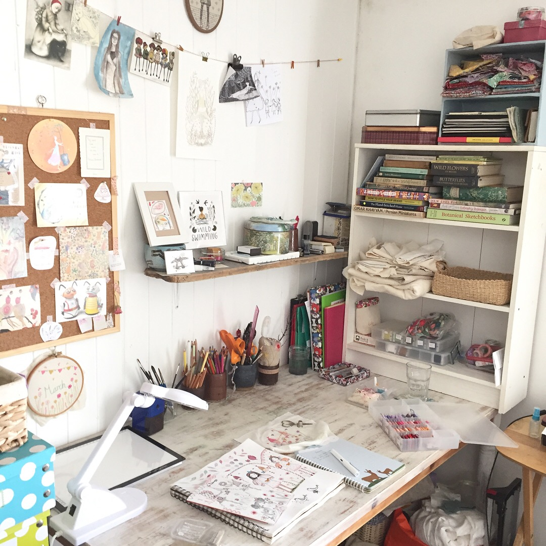 At The Moment This Is My Workspace, Although The Stitching Tends To Happen  Wherever There Is A Comfy Seat And Someone To Listen To Chatting Away  (usually My ...