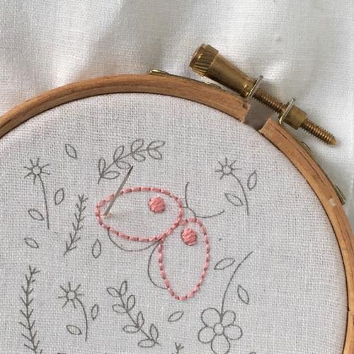 Split stitch 2